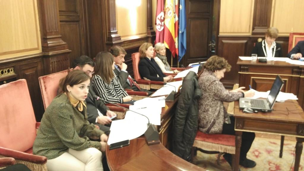 Intervención Gemma Villarroel Pleno León