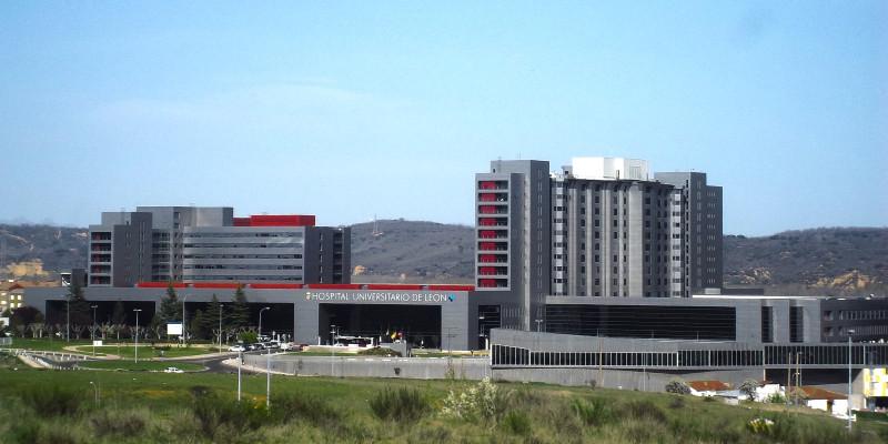 Vista del Hospital Universitario de León