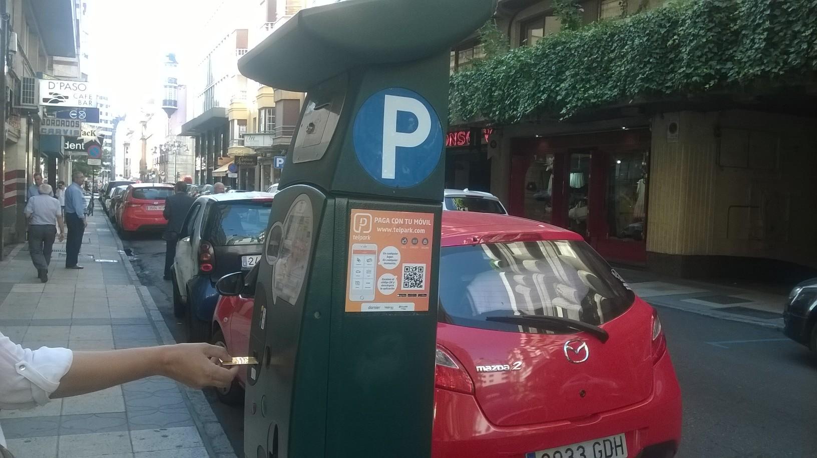Propuesta C´s León pago con tarjeta en parquímetros