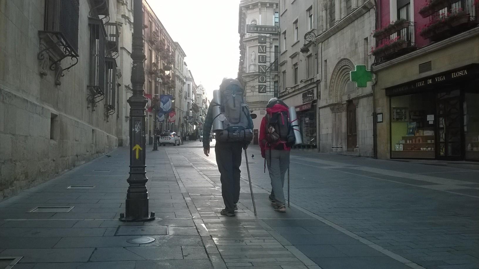 Señalética Camino de Santiago