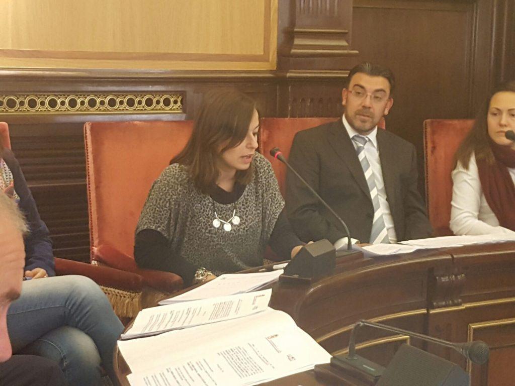 Intervención Gemma Villarroel en el Plenos del Ayuntamiento de León