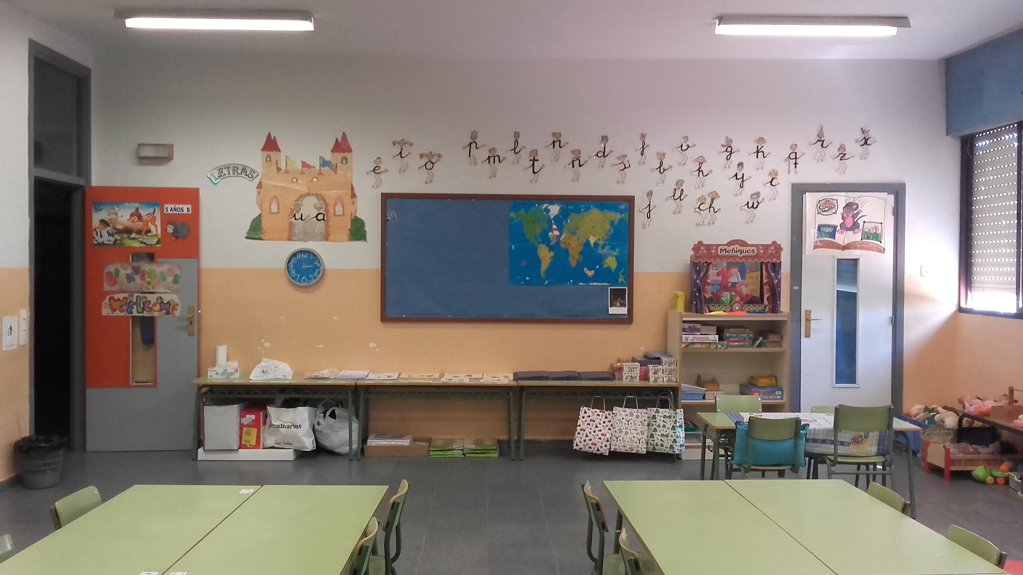Obras en Colegios de León