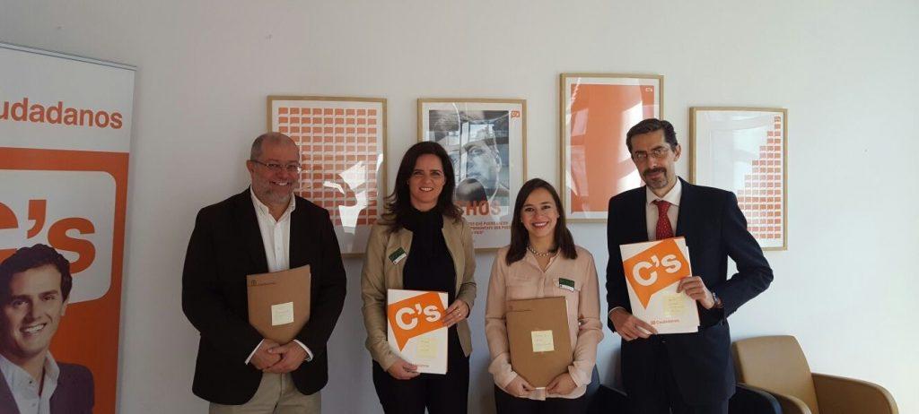 Reunión con Diputados C´s en Madrid
