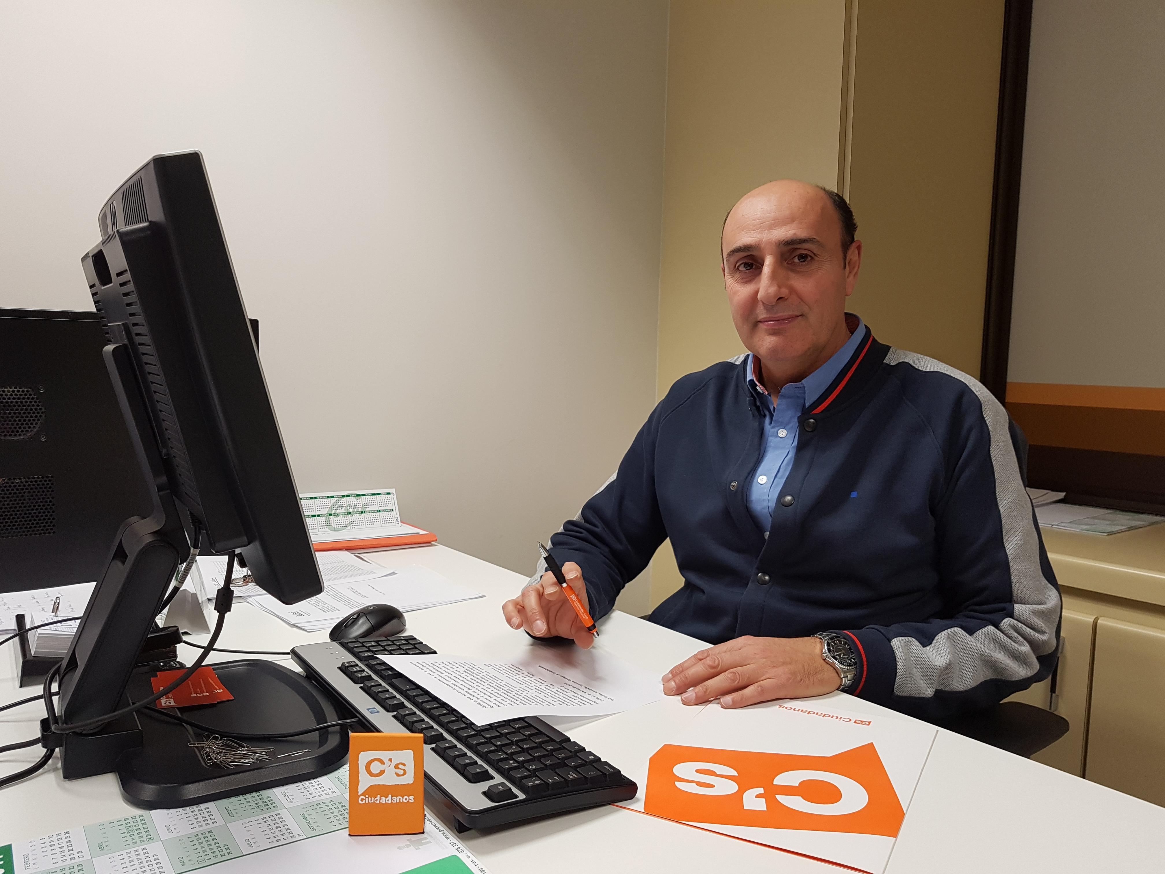 Concejal de Cs León Luis Carlos Fdez Tejerina
