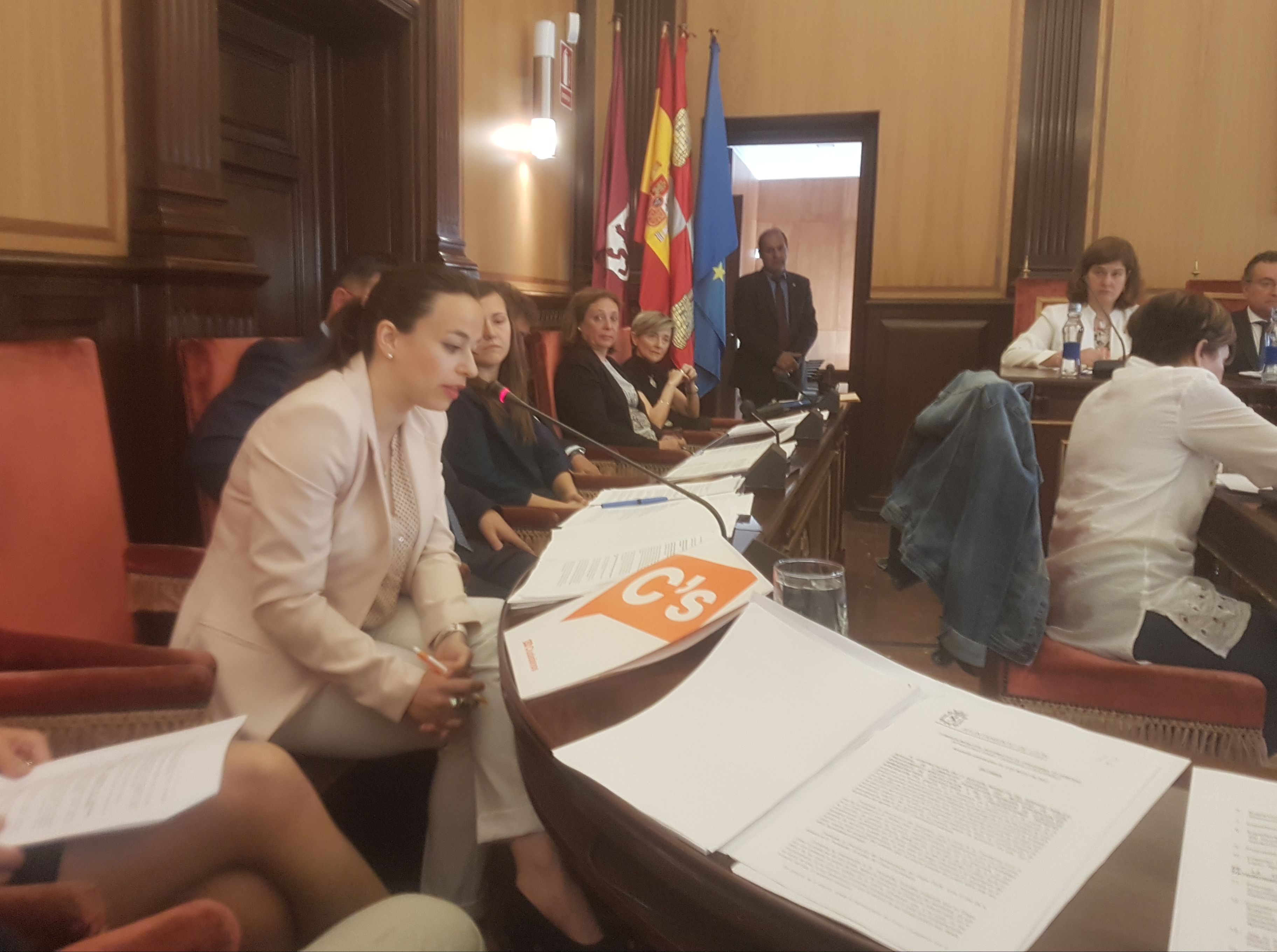 Intervención Gemma en el Pleno 2 de junio