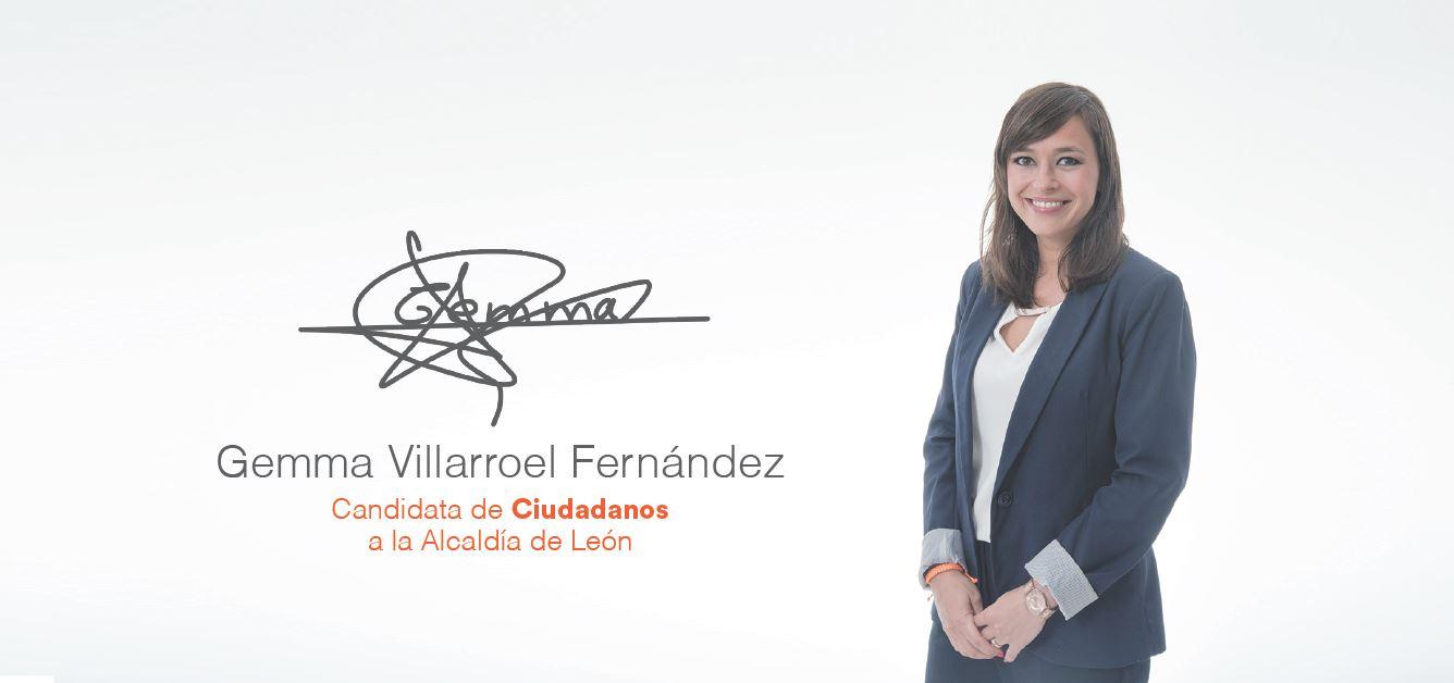 Gemma Villarroel - Candidata a la Alcaldia de Léon